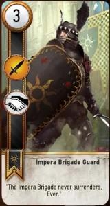 Impera Brigade Guard Card