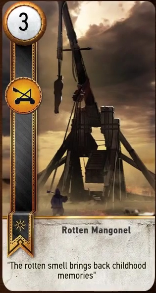 Rotten Mangonel card