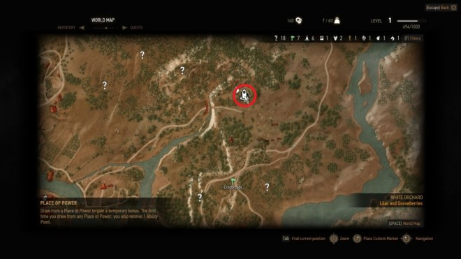 TW3 Northeastern White Orchard Attribute Point Map