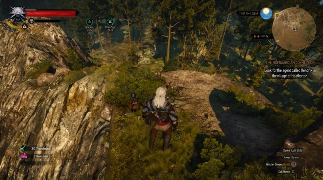witcher 3 enhanced Saddle