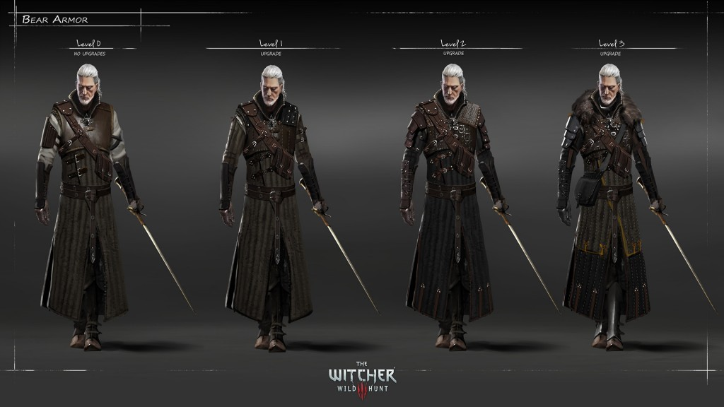 witcher 3 armor