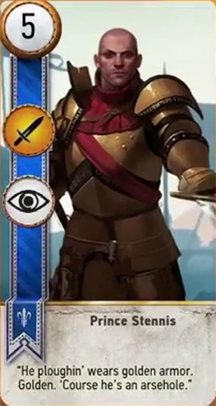 witcher 3 card prince stennis