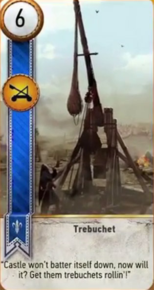 witcher 3 cards trebuchet