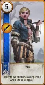 witcher 3 cards ves