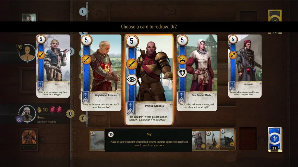 witcher 3 where to find best gwent cards