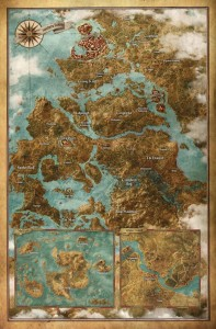 witcher 3 wild hunt world map