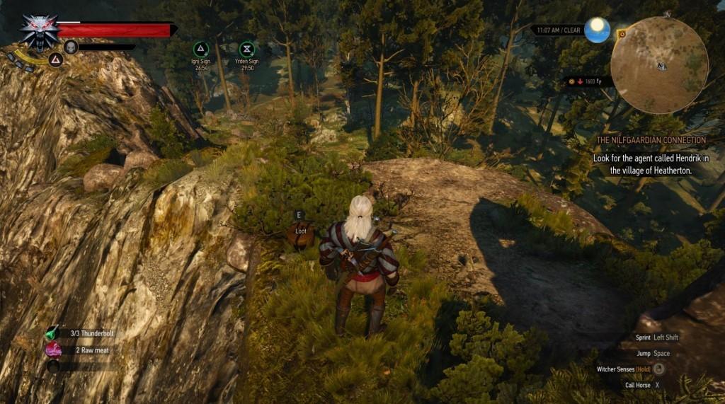 witcher 3 enhanced Saddle