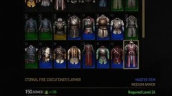 witcher 3 armor eternal fire executioners armor