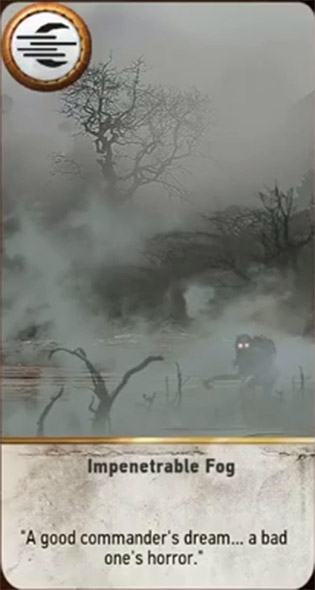 witcher 3 cards impenetrable fog