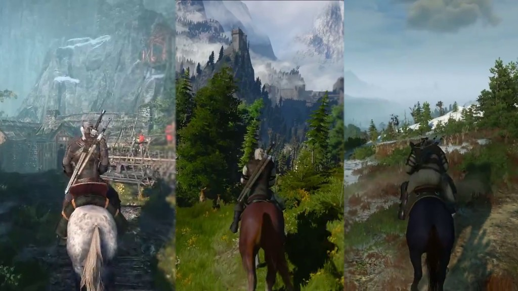 witcher 3 horse color