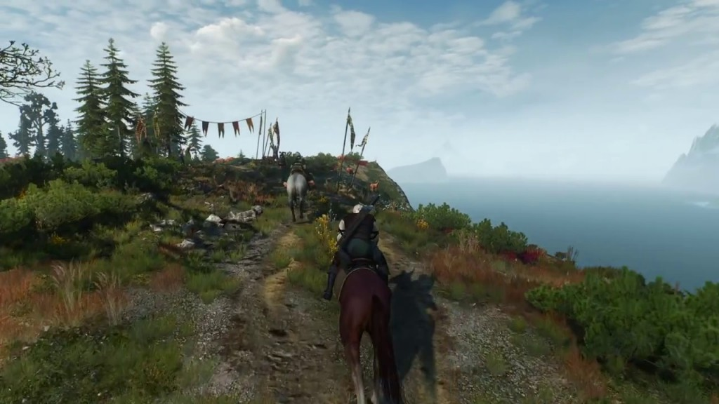 witcher 3 horse race