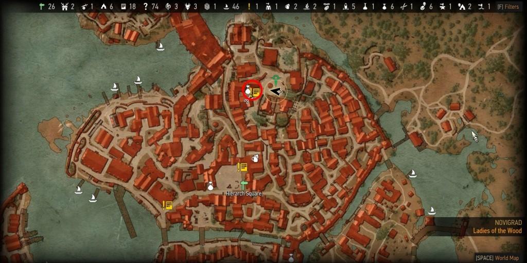witcher 3 skill reset novigrad